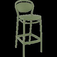 thumb-Barkruk - 75 cm - Marcel - Olijf Groen - Siesta-1