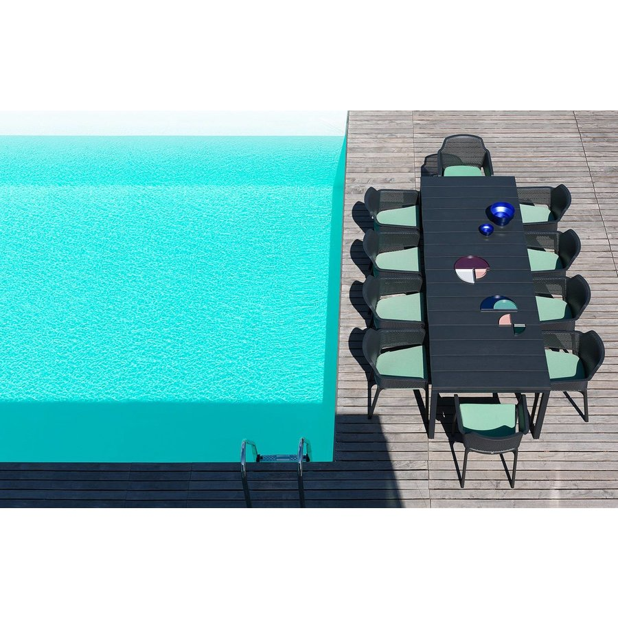 Tuinstoel Kussen - Net Relax - Turquoise - Sardinia - Nardi-5