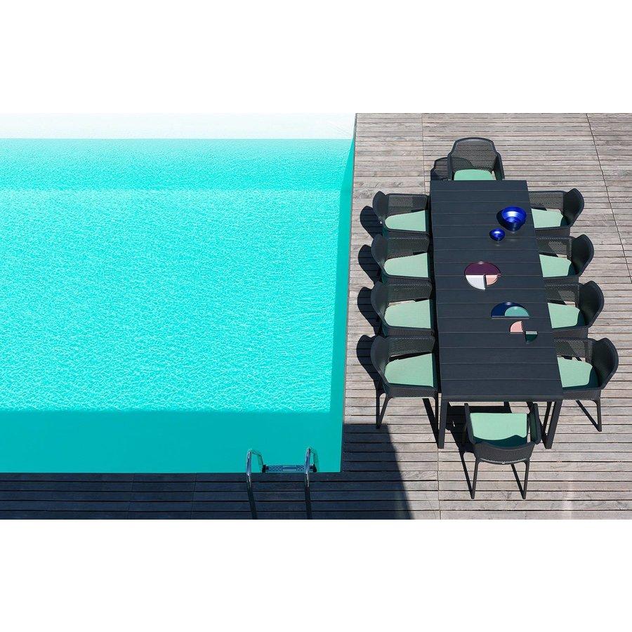 Tuinstoel kussen - Net Relax -Blauw - Denim - Nardi-5