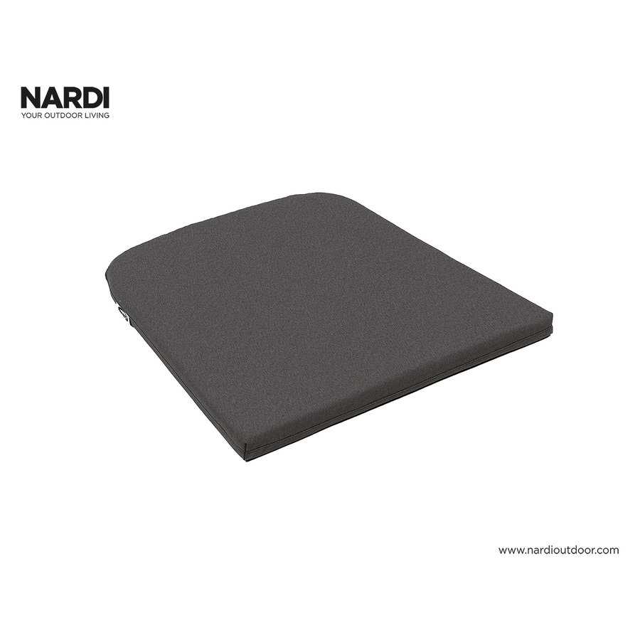 Tuinstoel kussen - Net - Donkergrijs - Grey Stone - Nardi-1