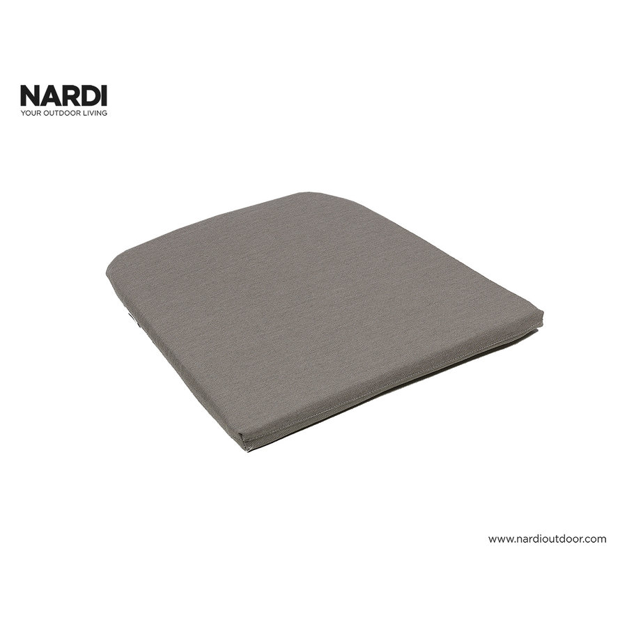 Tuinstoel kussen - Net - Donkergrijs - Grey Stone - Nardi-4