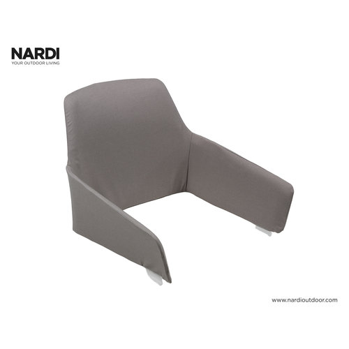 Nardi Tuinstoel Kussen - Shell Net Relax - Grijs - Grigio - Nardi