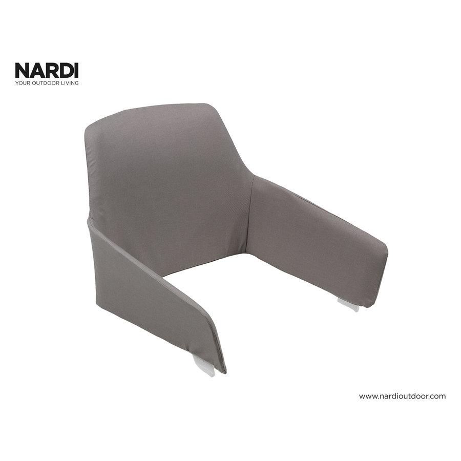 Tuinstoel Kussen - Shell Net Relax - Grijs - Grigio - Nardi-1