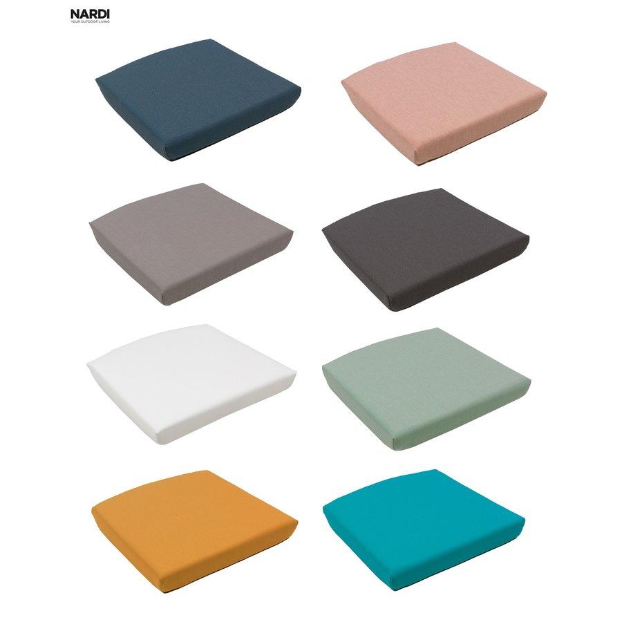 Tuinstoelkussen - Shell Net Relax - Blauw - Denim - Nardi-10