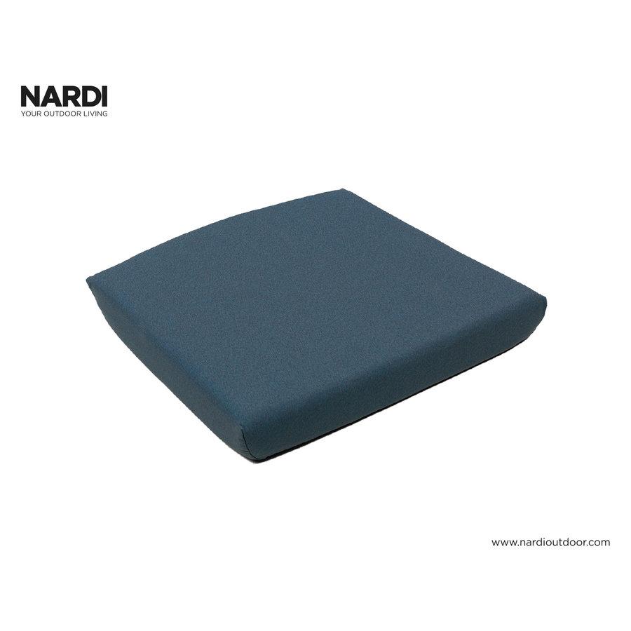 Tuinstoelkussen - Shell Net Relax - Blauw - Denim - Nardi-7