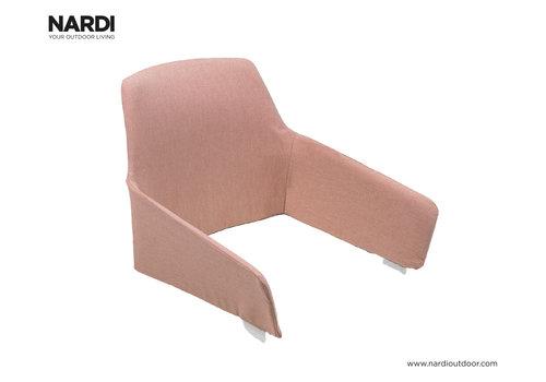 Tuinstoelkussen - Shell Net Relax - Roze - Rosa Quarzo - Nardi