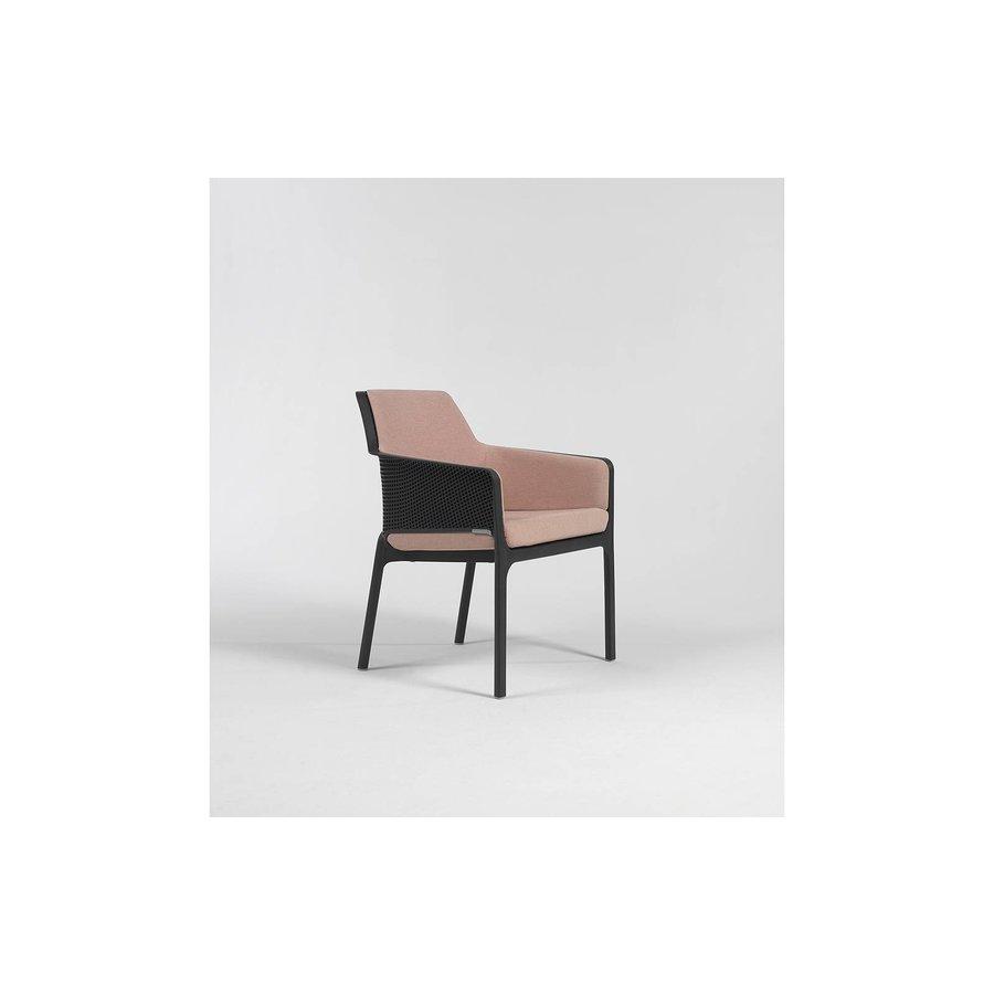 Tuinstoel kussen - Shell Net Relax - Roze - Rosa Quarzo - Nardi-2