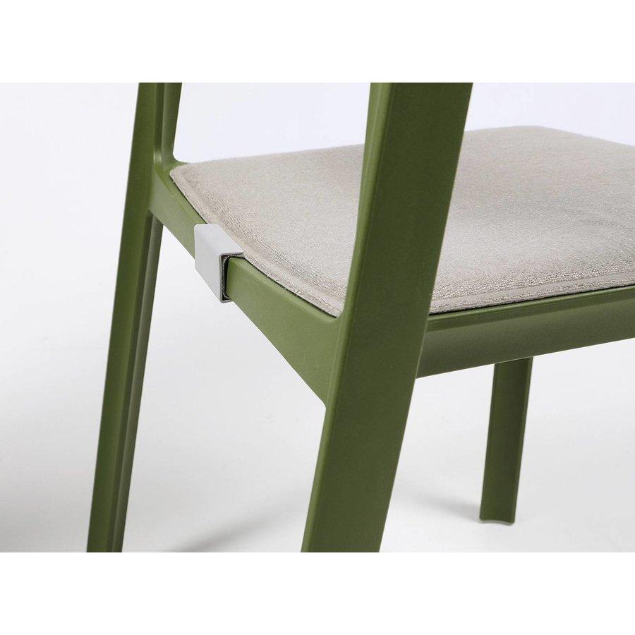Tuinstoel Kussen - Trill - Grijs - Cenere - Sunbrella ® -  Nardi-2