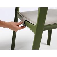 thumb-Tuinstoel Kussen - Trill - Grijs - Cenere - Sunbrella ® -  Nardi-3