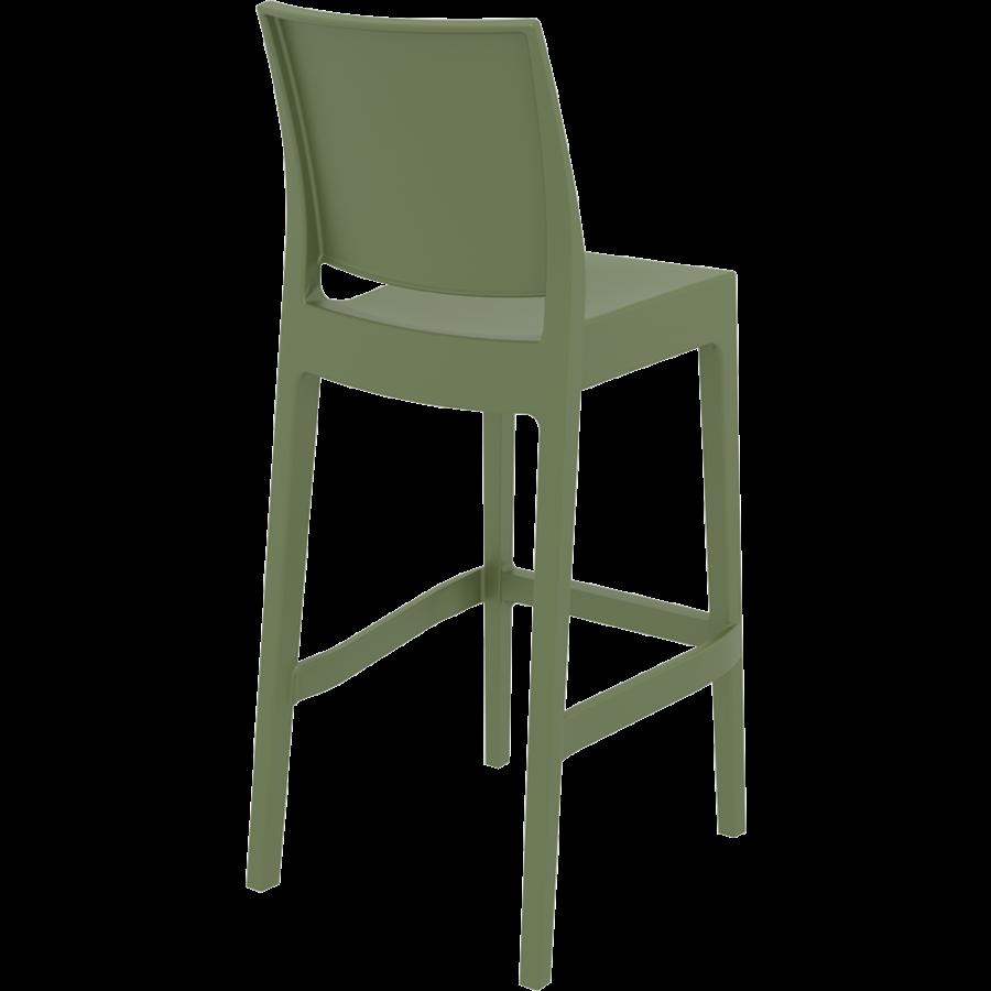 Barkruk Buiten - 75 cm - Maya - Olijf Groen - Siesta-6
