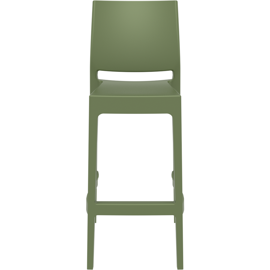 Barkruk Buiten - 75 cm - Maya - Olijf Groen - Siesta-2