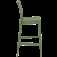 thumb-Barkruk Buiten - 75 cm - Maya - Olijf Groen - Siesta-7