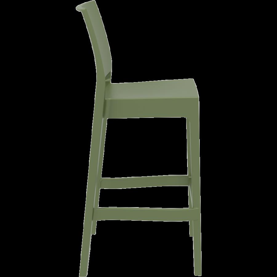 Barkruk Buiten - 75 cm - Maya - Olijf Groen - Siesta-7