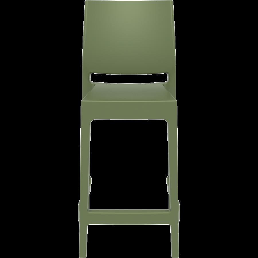 Counter Barkruk - 65 cm - Maya - Olijf Groen - Siesta-2