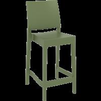 thumb-Counter Barkruk - 65 cm - Maya - Olijf Groen - Siesta-1