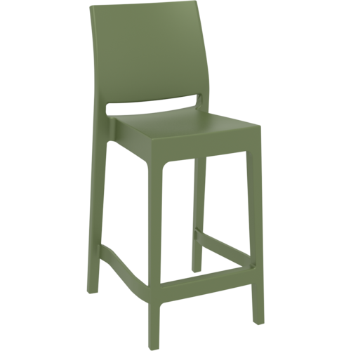 Siesta  Counter Barkruk - 65 cm - Maya - Olijf Groen - Siesta