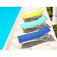 thumb-Ligbed - Pacific - Wit - Turquoise - Stapelbaar - Verstelbaar - Siesta-4