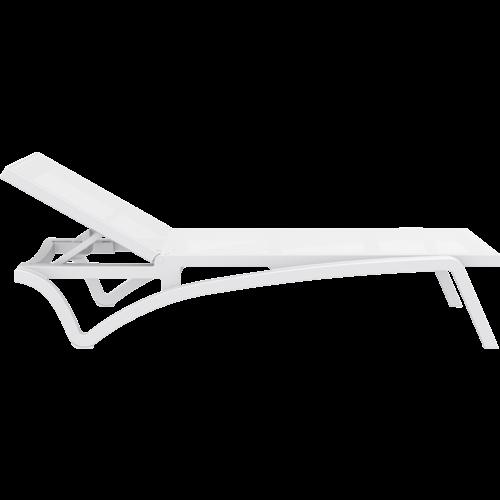 Siesta Exclusive Ligbed - Pacific - Wit - Stapelbaar - Verstelbaar - Siesta