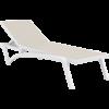 Siesta Exclusive Ligbed - Pacific - Wit - Taupe - Stapelbaar - Verstelbaar - Siesta