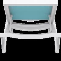thumb-Ligbed - Pacific - Wit - Turquoise - Stapelbaar - Verstelbaar - Siesta-8