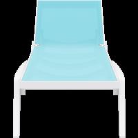 thumb-Ligbed - Pacific - Wit - Turquoise - Stapelbaar - Verstelbaar - Siesta-2