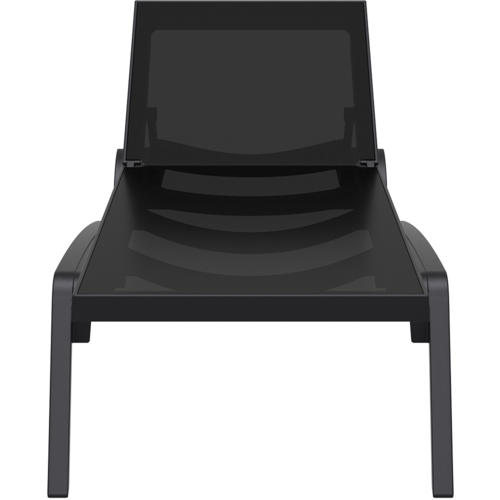 Siesta Exclusive Ligbed - Pacific - Zwart - Zwart - Stapelbaar - Verstelbaar - Siesta