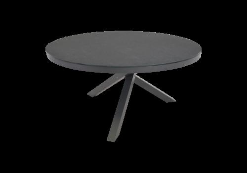Ronde Tuintafel - Mojito Negro - Ø 150 cm -  Keramiek - Lesli Living