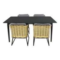 thumb-Tuintafel - Crest - Aluminium - 180x90x75 cm - Lesli Living-8