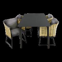 thumb-Tuintafel - Crest - Aluminium - 180x90x75 cm - Lesli Living-10