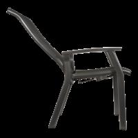thumb-Verstelbare Tuinstoel - Mojito Negro II - Aluminium - Lesli Living-5