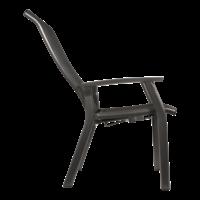 thumb-Verstelbare Tuinstoel - Mojito Negro II - Aluminium - Lesli Living-4