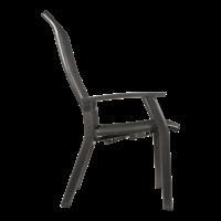 thumb-Verstelbare Tuinstoel - Mojito Negro II - Aluminium - Lesli Living-3