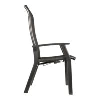thumb-Verstelbare Tuinstoel - Mojito Negro II - Aluminium - Lesli Living-2