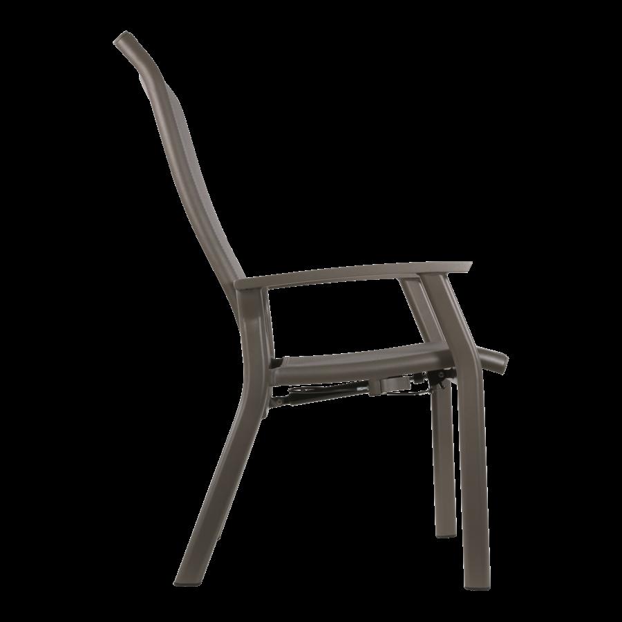 Standenstoel - Mojito Pardo II - Aluminium - Lesli Living-4