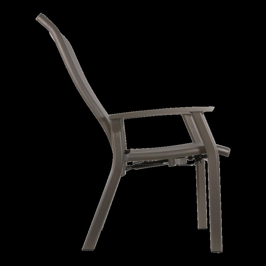 Standenstoel - Mojito Pardo II - Aluminium - Lesli Living-5