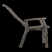 thumb-Standenstoel - Mojito Pardo II - Aluminium - Lesli Living-6