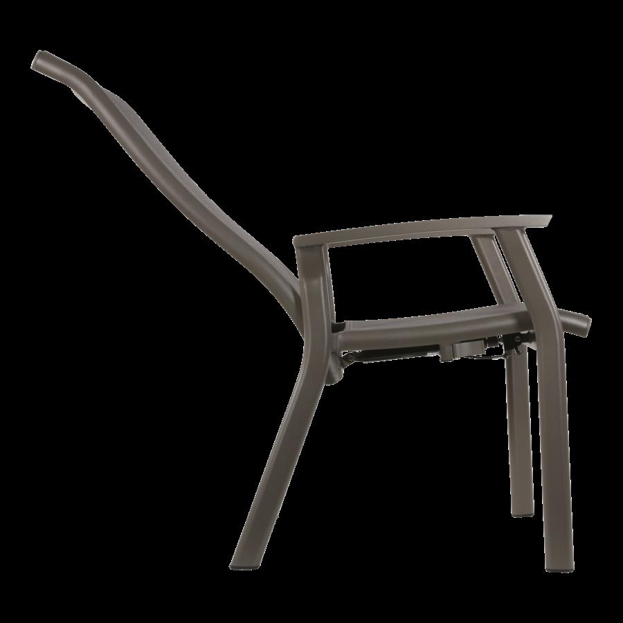 Standenstoel - Mojito Pardo II - Aluminium - Lesli Living-6