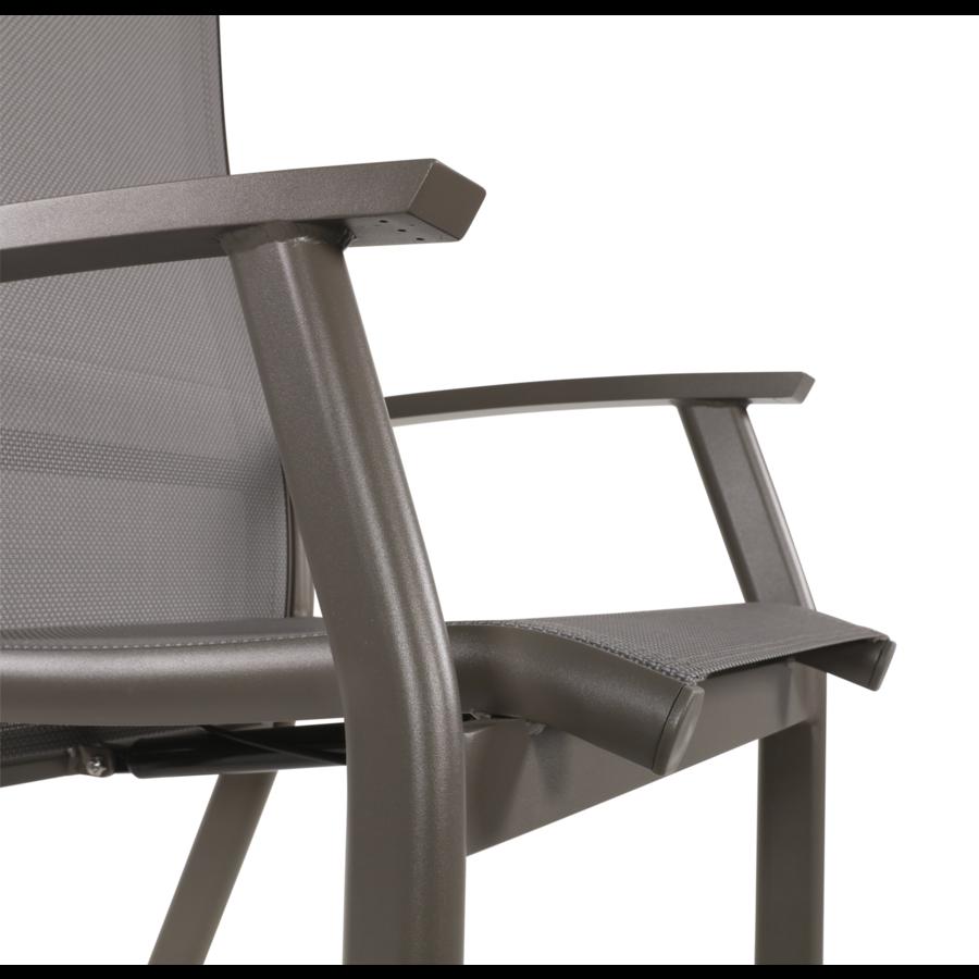 Standenstoel - Mojito Pardo II - Aluminium - Lesli Living-8