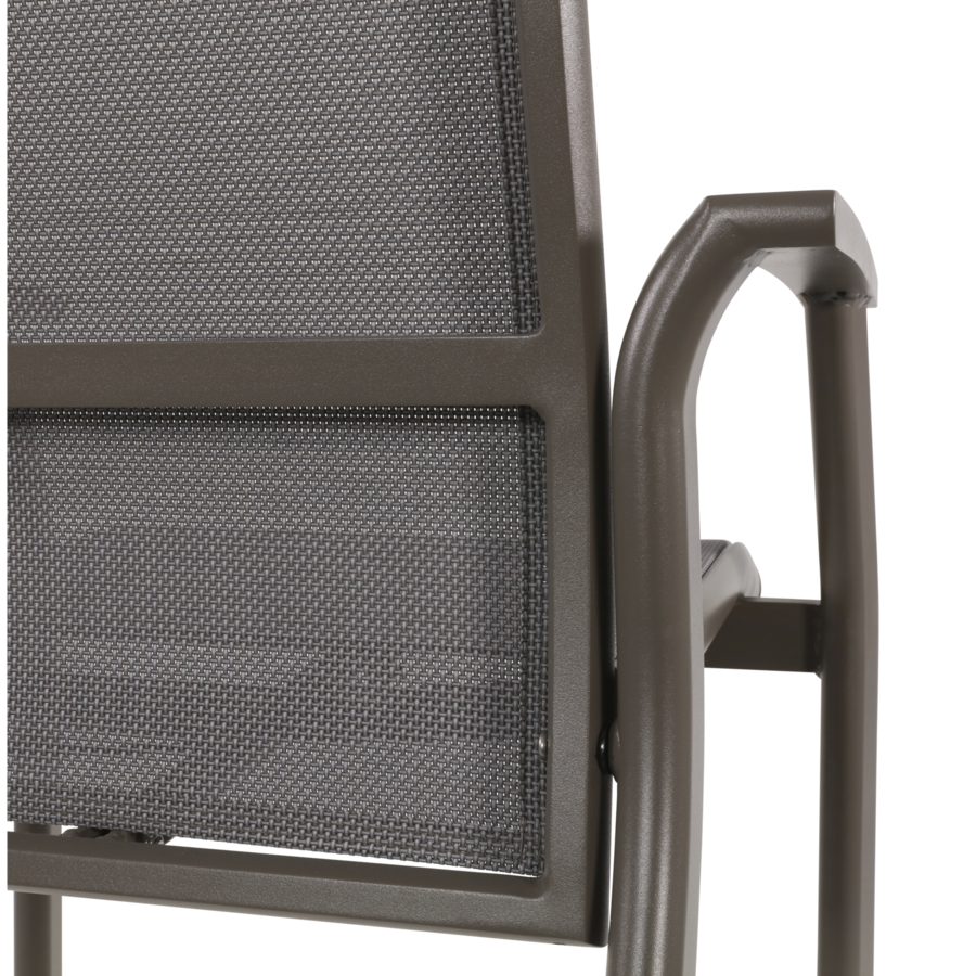 Standenstoel - Mojito Pardo II - Aluminium - Lesli Living-10