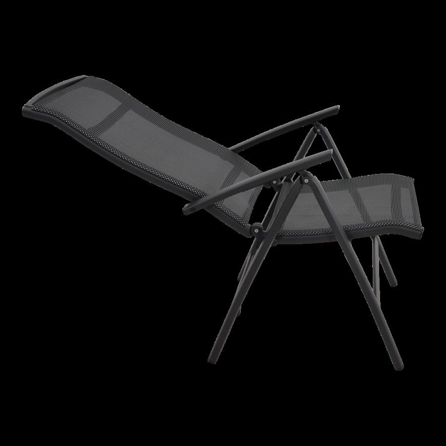 Standenstoel - Lotis Negro - Antraciet - Aluminium - Lesli Living-4