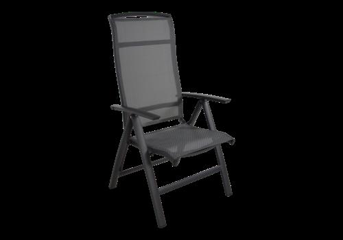 Standenstoel - Lotis Negro - Antraciet - Aluminium - Lesli Living