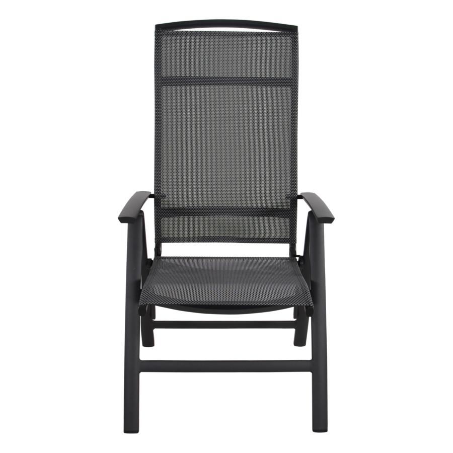 Standenstoel - Lotis Negro - Antraciet - Aluminium - Lesli Living-2