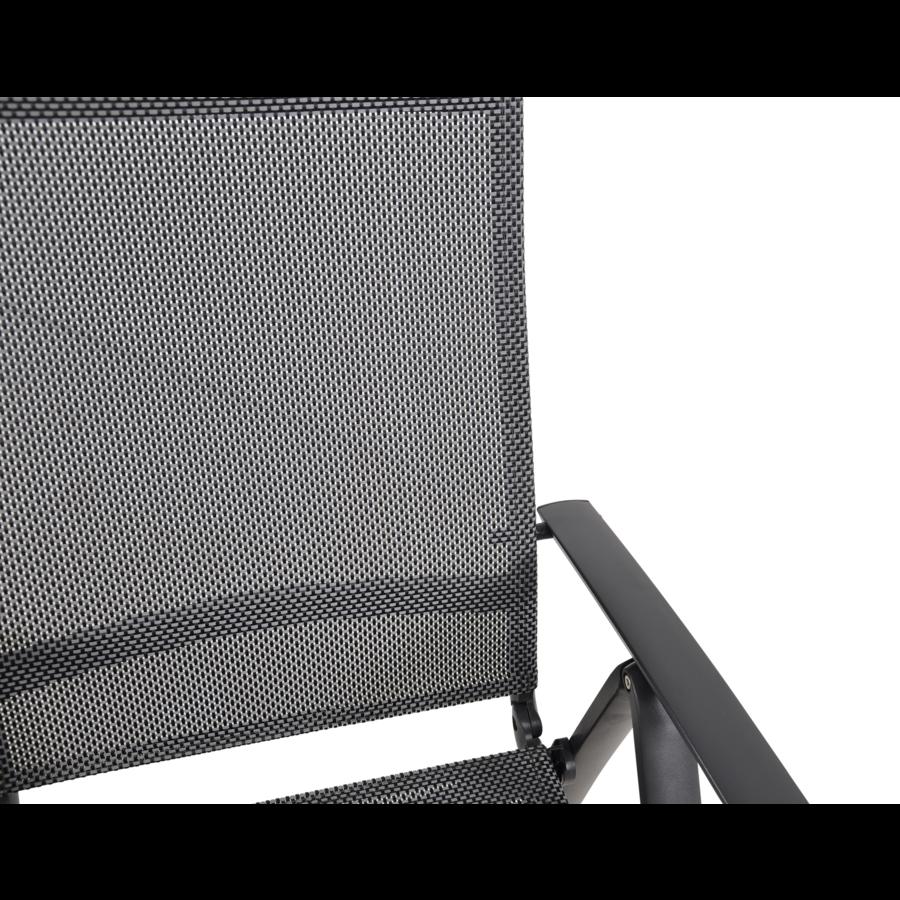 Standenstoel - Lotis Negro - Antraciet - Aluminium - Lesli Living-5