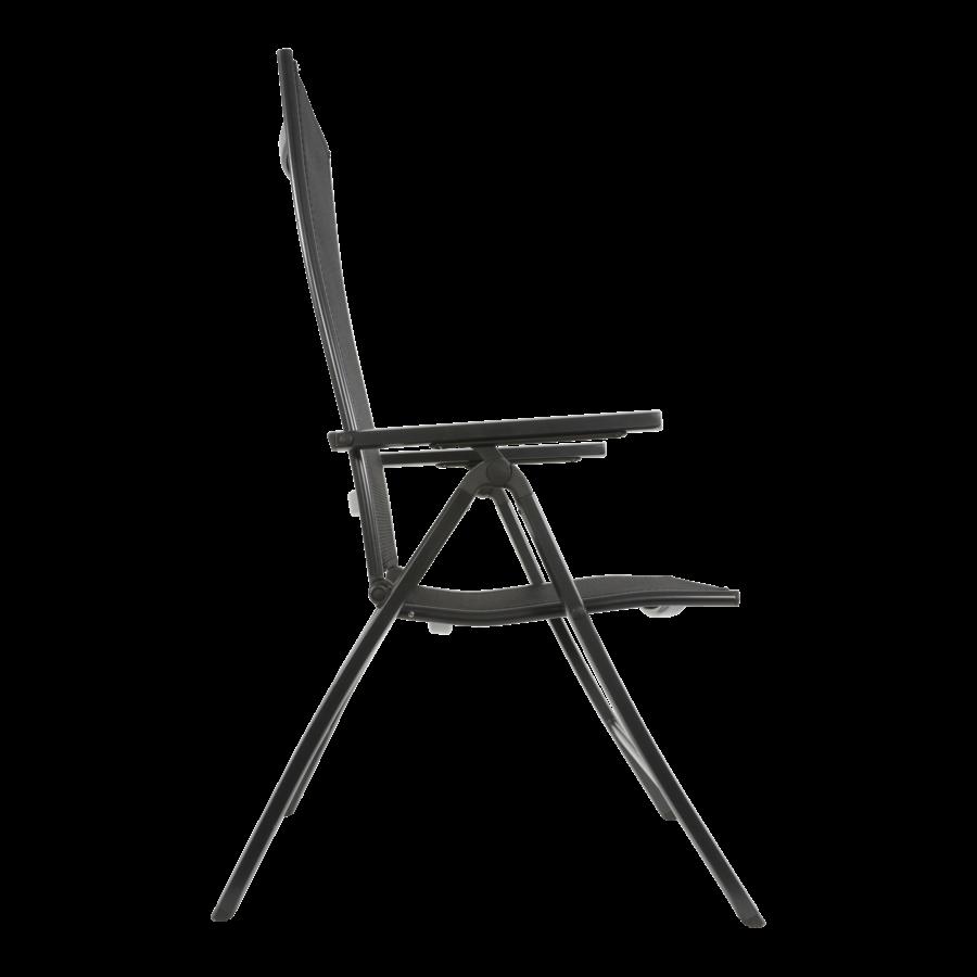 Standenstoel - Carino - Antraciet - Aluminium - Lesli Living-3