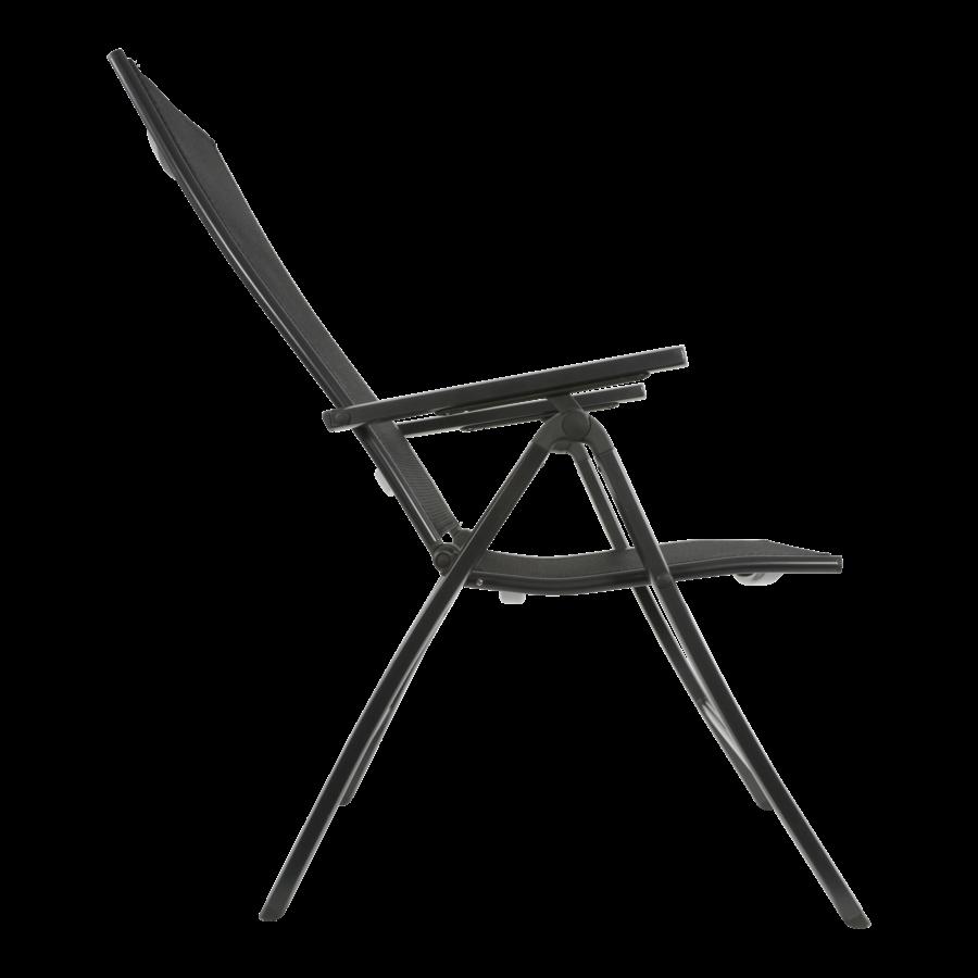 Standenstoel - Carino - Antraciet - Aluminium - Lesli Living-4