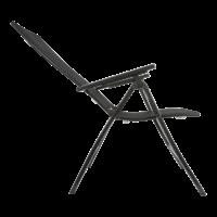 thumb-Standenstoel - Carino - Antraciet - Aluminium - Lesli Living-5