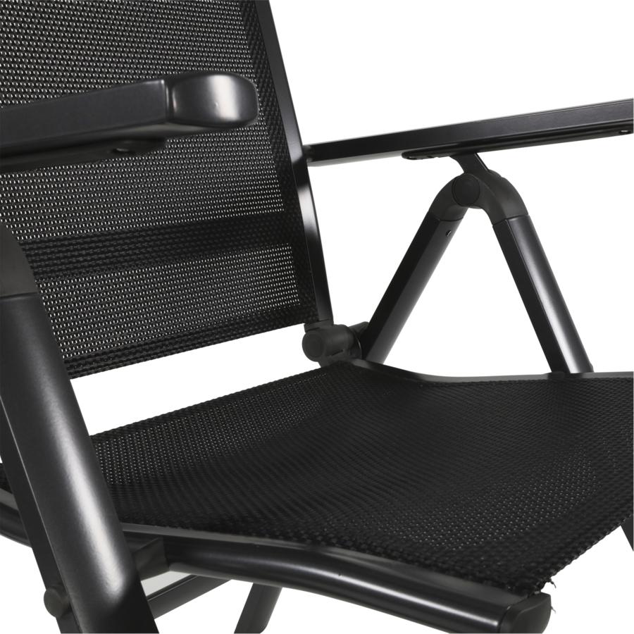 Standenstoel - Carino - Antraciet - Aluminium - Lesli Living-7