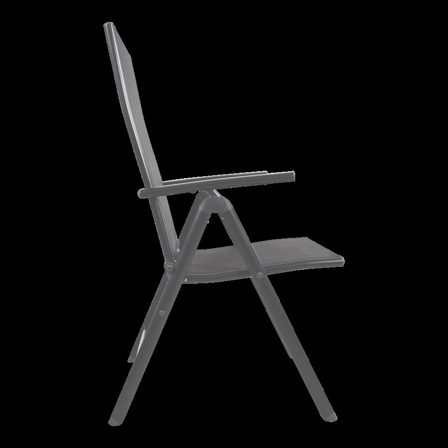 Standenstoel - Veneto - Antraciet - Aluminium - Lesli Living-3