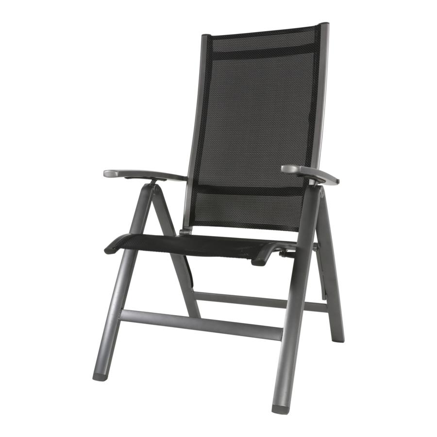 Standenstoel - Reno - Aluminium - Lesli Living-2