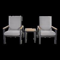 thumb-Lounge Tuinstoelen - Duoset Coda - Charcoal - Lesli Living-4